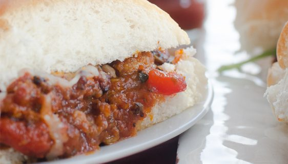 Italian Sloppy Joe Sliders | Twisted Tastes